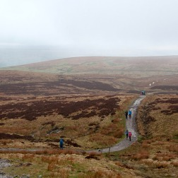 Between Pen-y-ghent and Whernside