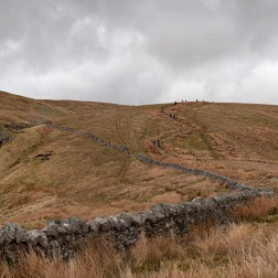 Waterfall on the path to Whernside