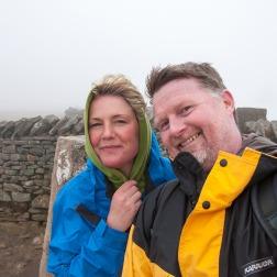 Whernside summit (736 m or 2,415 ft)